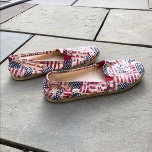Airwalk Shoes - Patriotic Slip On Flats